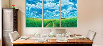 3 piece scenic canvas prints