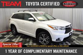 Used Certified One-Owner 2016 Toyota Highlander XLE - V6 AWD ...
