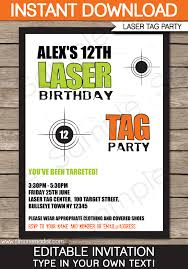 print free birthday invitations laser tag invitation template laser tag invitations