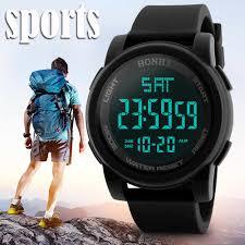 Men Analog Digital <b>Military Army Sport</b> LED Waterproof Wrist Watch ...