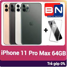 Combo Điện thoại Apple iPhone 11 Pro Max 64GB + ốp lưng bảo vệ - Hàng mới  100% chưa kích hoạt