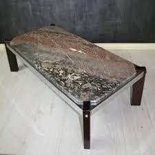 vintage italian marble top coffee table