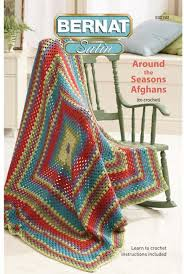 Bernat Crochet Patterns Beauteous Bernat Around The Seasons Afghans Crochet Patterns 48Stitch