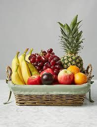 fruit basket. Fine Fruit Traditional Fruit Basket And Marks U0026 Spencer