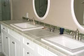 tile bathroom countertop ideas. Various Alluring Tile Bathroom Countertop SL At Countertops Ideas R