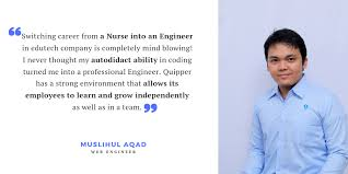 When A Nurse Turned Into An Engineer Life At Quipper Medium