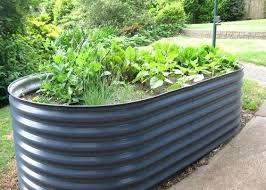 corrugated garden beds raised garden bed deep ocean 2 m x 1 m x raised vegetable garden beds