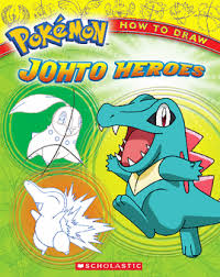 pokemon how to draw johto heroes by ron zalme paperback book the pa