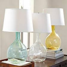 Glass Base Table Lamps Extraordinary Glass Base Table Lamps Captivating 32 Alluring Glass Table Lamps To