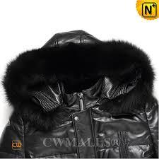 patent design leather down coat cw890002 cwmalls com
