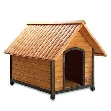 large wooden dog house pet squeak black brown frame raised dog house large wooden dog house