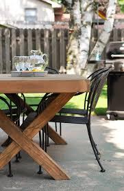 diy outdoor table. DIY Outdoor Dining Tables-3 Diy Table T