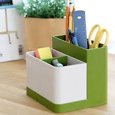 Image is loading Unique-Multi-Purpose-Pen-Pencil-Holder-Desk-Organizer-