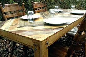outdoor pallet deck furniture. Pallet Decking Furniture Table Made Out Of Pallets Deck From  Patio Ideas Outdoor . A
