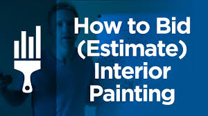 how to bid estimate interior painting by painting business pro you