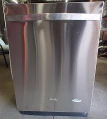 monochromatic stainless steel. NEW - Whirlpool Dishwasher With Stainless Steel Tub WDT780SAEM Monochromatic   Name Brand Tool Boxes / Stoves Electronics Hoverboards