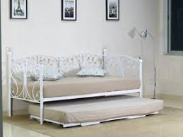 black or white furniture. Image Is Loading 2ft6-3ft-Day-bed-and-Trundle-with-Crystal- Black Or White Furniture