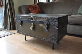 Black Steamer Trunk Coffee Table Steamer Trunk Coffee Table Toronto Coffee Addicts