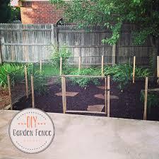 diy garden fence garden fence