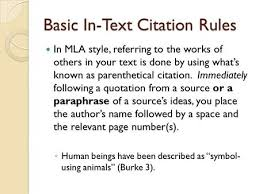 parenthetical citation in mla format citing sources mini lesson on mla format the steps using mla 1