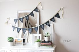 Fabric banners diy Bunting Banner 10 Best Diy Birthday Banners Design Dazzle 10 Fantastic Diy Happy Birthday Banner Ideas How To Make Homemade