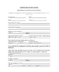 wedding reception agenda template reception schedule template wedding wedding reception table plan