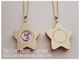 star locket necklace sailor moon