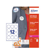 How To Print Avery Name Badges Avery Round Self Adhesive Name Badges