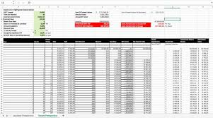 Pro Forma Calculator Convert Html To Excel Spreadsheet For Inventory Management Free