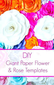 Giant Paper Flower Template Pdf Giant Paper Flower Template Paper Flower Template Giant