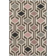 hilda gisele blush pink 8 ft x 11 ft indoor area rug