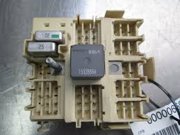 wiring junction fuse box relay left footwell 15190658 oem hummer wiring junction fuse box relay left footwell 15190658 oem hummer h2 2003 07