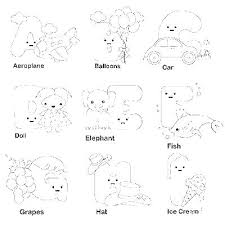 Alphabet Coloring Pages Free Antiatominfo