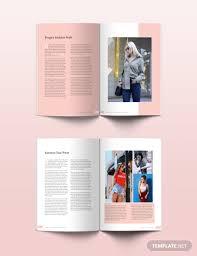 Indesign Magazine Templates Free Fashion Magazine Template Psd Indesign