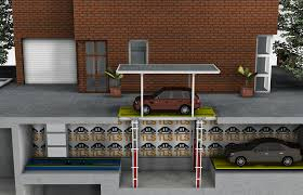 house basement garage.  Basement Basement Garage Car Lift With Roof Move 30T Alternate Image 2 To House T