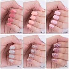 Gellen Nail Gel Polish 6 Pieces 8ml Nude Pink Color Uv Gel