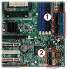 hp and compaq desktop pcs jumper settings for the installation figure example of motherboard connectors for drives your computer configuration might be different