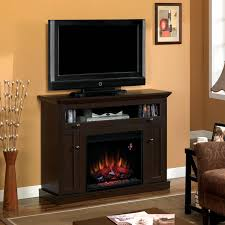 classicflame windsor 46 inch wall or corner electric fireplace media console oak espresso