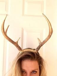realistic deer antler headband diy new reindeer antlers