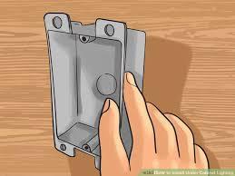 image titled install under cabinet lighting step 5 adding under cabinet lighting