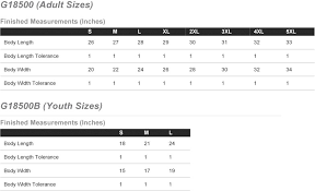 Gildan 18500 Size Chart St Raymonds Basketball Cotton Hoodie