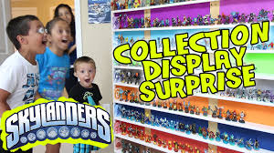 Elegant Skylanders Collection Display SURPRISE! Ultimate Toy Storage Organization!    YouTube