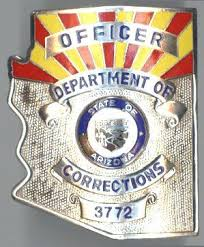 Arizona Correctional Officer Arizona Department Of Corrections Officer Badge Law Enforcement