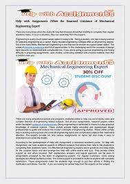 help assignments offers the seasoned guidance of mechanical  help assignments offers the seasoned guidance of mechanical engineering expert by melyjess issuu