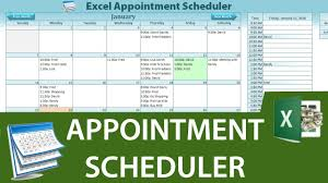 Youtube Gantt Chart Excel 2013 How To Create A Dynamic Appointment Scheduler In Excel Part 1