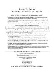 Sales Sample Resume Certified Professional Resume Writer Former