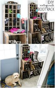 diy vintage furniture. Vintage Boot Rack Diy Furniture