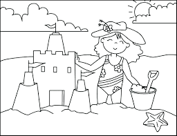 Kids love to color by numbers and we've got a bunch for you to choose from. Beach Coloring Pages Beach Scenes Activities