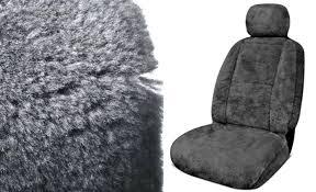 eurow xl design sheepskin seat cover