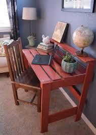 pallet furniture desk. diy pallet desk furniture